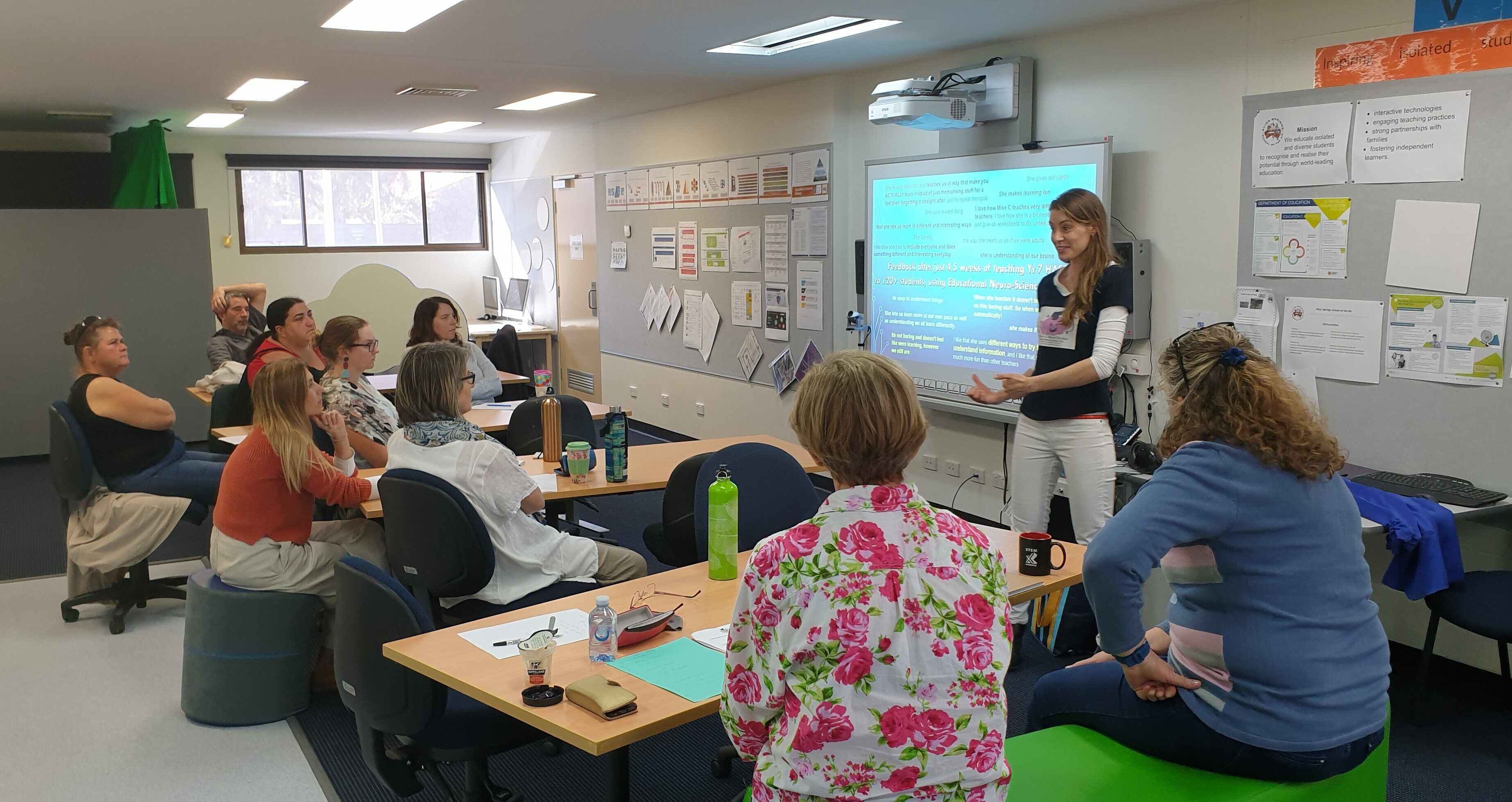 Teacher Professional Development for well-being & learning
